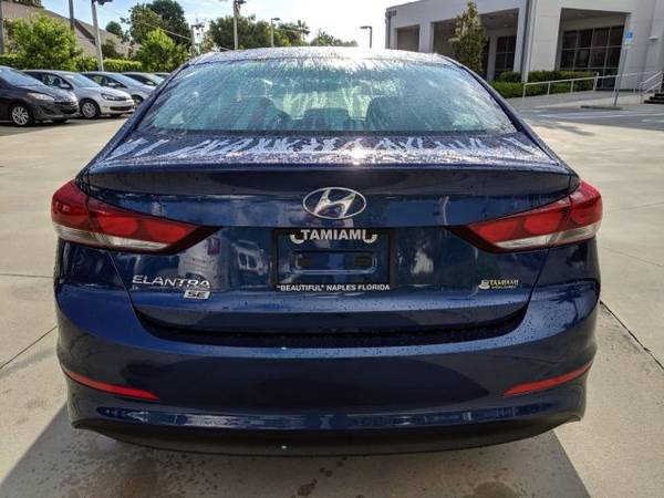 2018 Hyundai Elantra Lakeside Blue Great Deal! for sale in Naples, FL – photo 5
