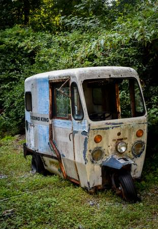 60s Westcoaster Mailster - vintage 3 wheel mail truck for sale in Concord, NC – photo 2