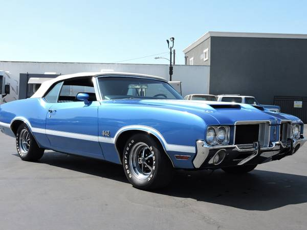 1971 OLDSMOBILE 442 CONVERTIBLE * REAL DEAL 442 * for sale in Santa Ana, CA