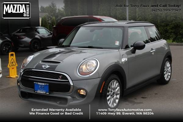 2015 MINI Cooper Hardtop 2dr HB S Call Tony Faux For Special Pricing for sale in Everett, WA