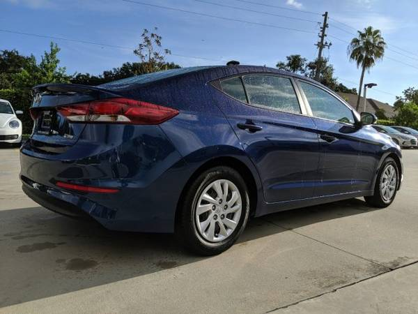 2018 Hyundai Elantra Lakeside Blue Great Deal! for sale in Naples, FL – photo 4
