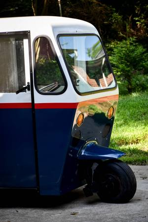 60s Westcoaster Mailster - vintage 3 wheel mail truck for sale in Concord, NC – photo 3